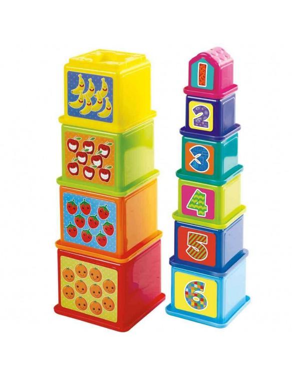 Cubos Apilables Educativos 4892401023827