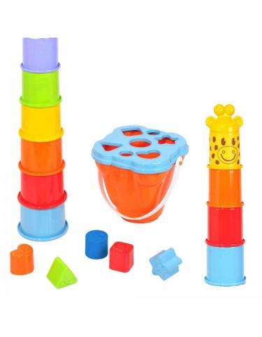 Girafa Apilable Playgo 4892401023889